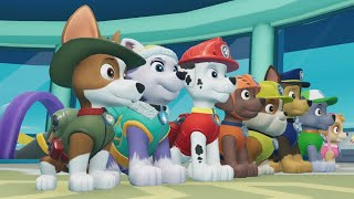 PAW Patrol On a Roll - Mighty Pups Marshall Ultimate Rescue Mission in Adventure Bay