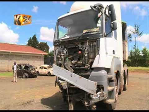 Watu 5 wafariki baada ya gari kugonga lori Makutano,Eldama Ravine