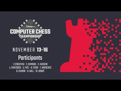 Computer Chess Championship Day 2: The Best Pull Away