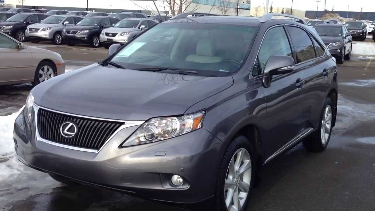 lexus certified pre owned 2012 rx 350 awd ultra premium package 1 review youtube. Black Bedroom Furniture Sets. Home Design Ideas
