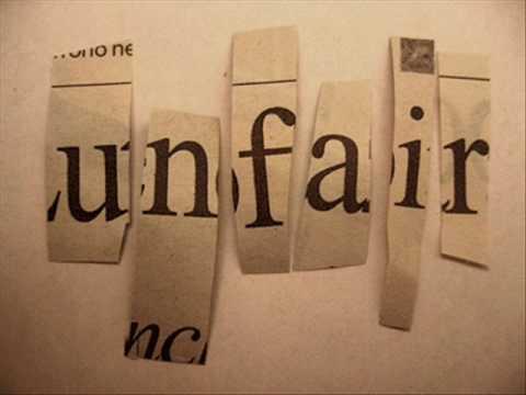 Love is Unfair