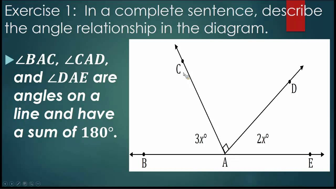 L10 Angle Problems and Solving Equations - YouTube