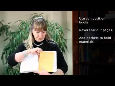 Notebooking Tips from Dinah Zike