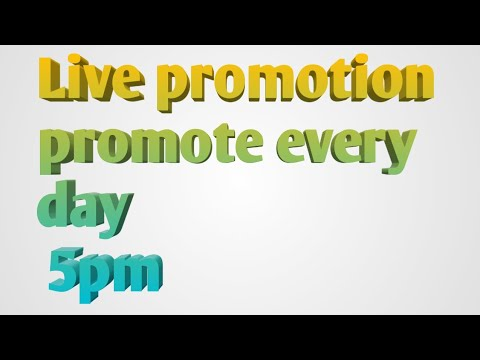 Live On #2Sunday Promote Welcome Every Day New Frnds Cntd