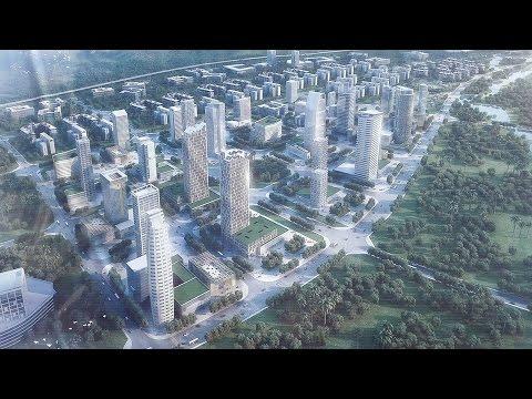 Congo -Brazzaville New River Bank Mall under Construction