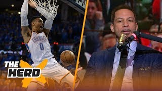 Chris Broussard on OKC's Westbrook-George,Talks Ben Simmons and Has LeBron checked out | THE HERD