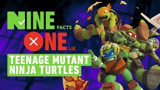 9 Facts, 1 Lie: Teenage Mutant Ninja Turtles
