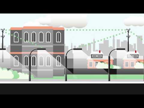 Verizon Intelligent Lighting Solutions Smart Street Lighting System Youtube