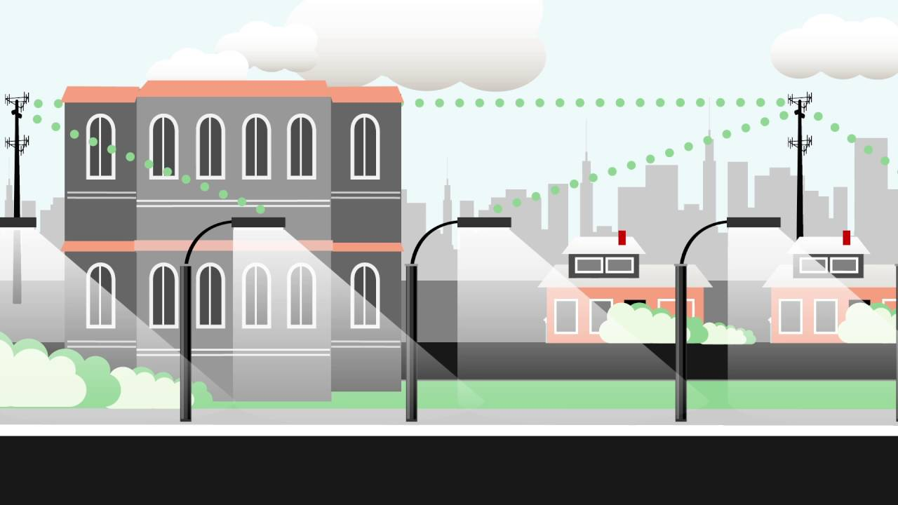 Verizon Intelligent Lighting Solutions: Smart Street Lighting System ...