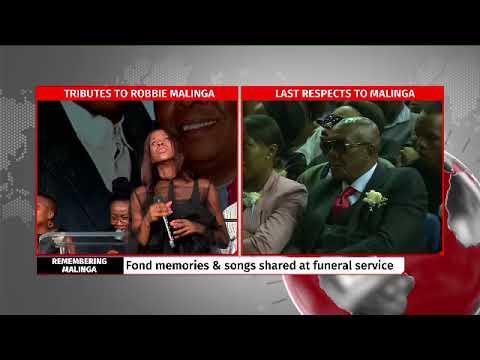 Afro-Jazz sensational singer Naima Kay tribute to Robbie Malinga