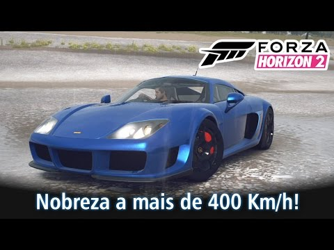 Nobreza a mais de 400 Km/h! Noble M600! Top Speed e tuning! | Forza Horizon 2 [PT-BR]