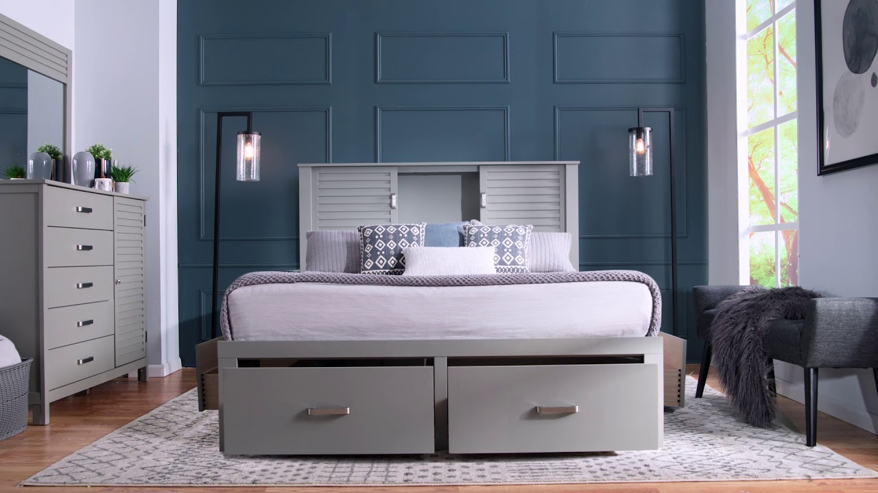 Bob's Discount Furniture Dalton Bedroom Set for Only $999!
