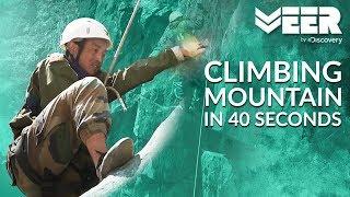 Rock Craft Test: Climbing Mountain in 40 Seconds   High Altitude Warfare School E2P4