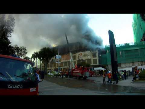 Metro Fire Update, Ayala Mall, Cebu City, Philippines