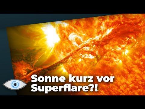 Extrem-Ausbruch: Steht Unsere Sonne Kurz Vor Einem Superflare?!