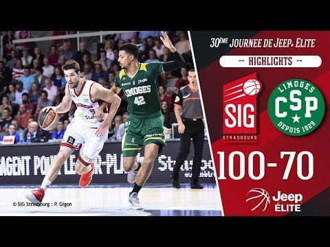 SIG Strasbourg-Limoges: highlights et réactions Jérémy Leloup
