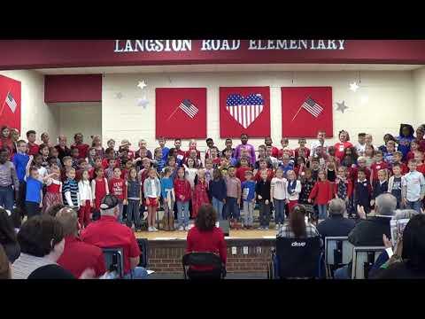 Langston Road Elementary School Veterans Program 2