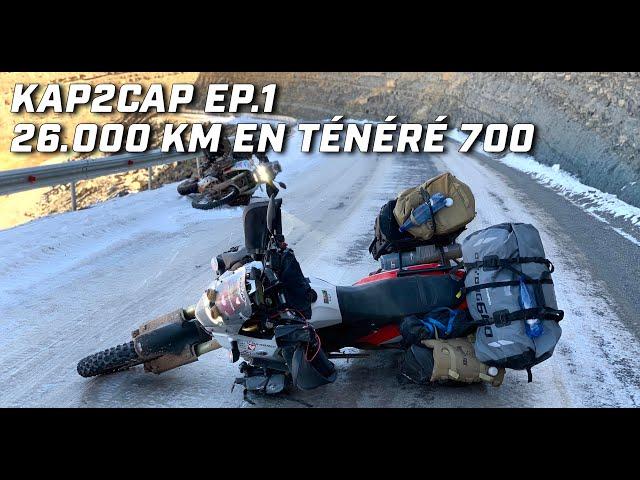 Kap2cap Ép.1 ► Cap Nord à Capetown ► 26.000 km en Ténéré 700