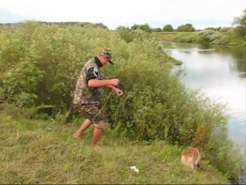 Уловистая снасть:  Убийца карася, карпа на резинке.My fishing.