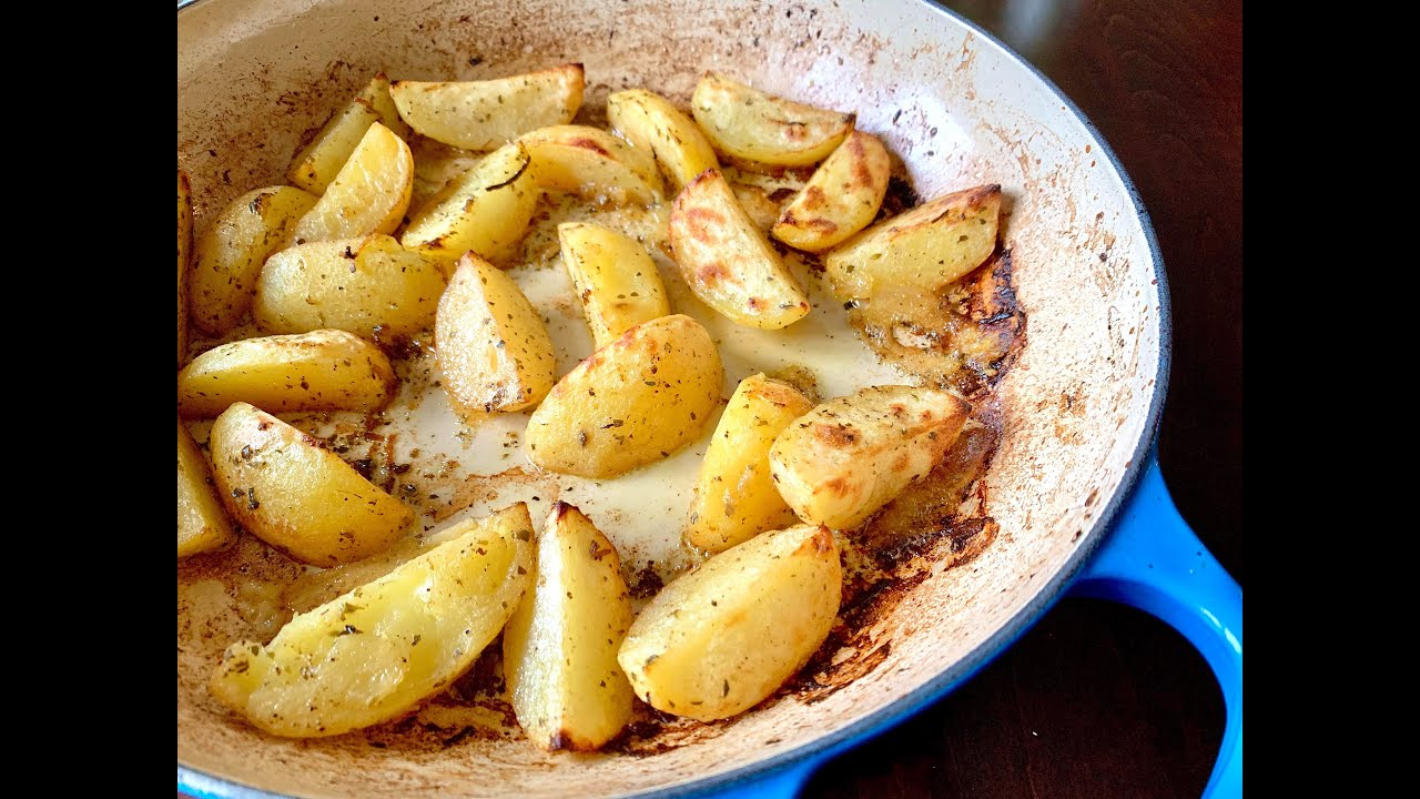 Quarantine Greek Lemon Potatoes | Christine Cushin