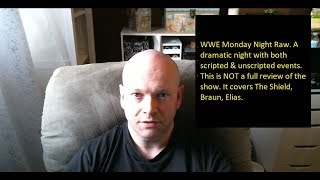 WWE | Monday Night Raw | 10/22/2018 | Roman Reigns Leukemia - Braun - Elias - The Shield Update.