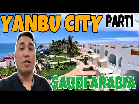 WHATS INSIDE IN YANBU CITY 🇸🇦? |  THE BIGGEST COASTAL PORT I