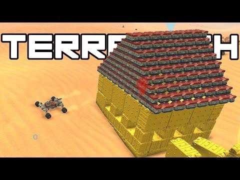 Terra Tech - Building a House! - TerraTech Gameplay