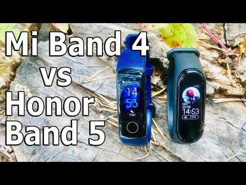 10 различий между Mi Band 4 и Honor Band 5 II Анти-шаблонный