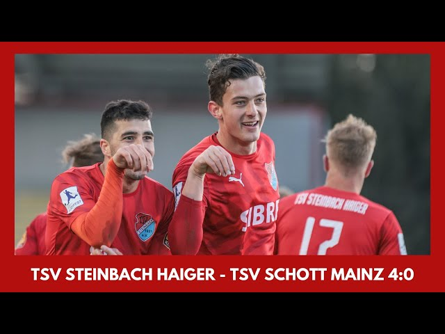 4 Tore + 2 Platzverweise! #TSVMNZ 4:0