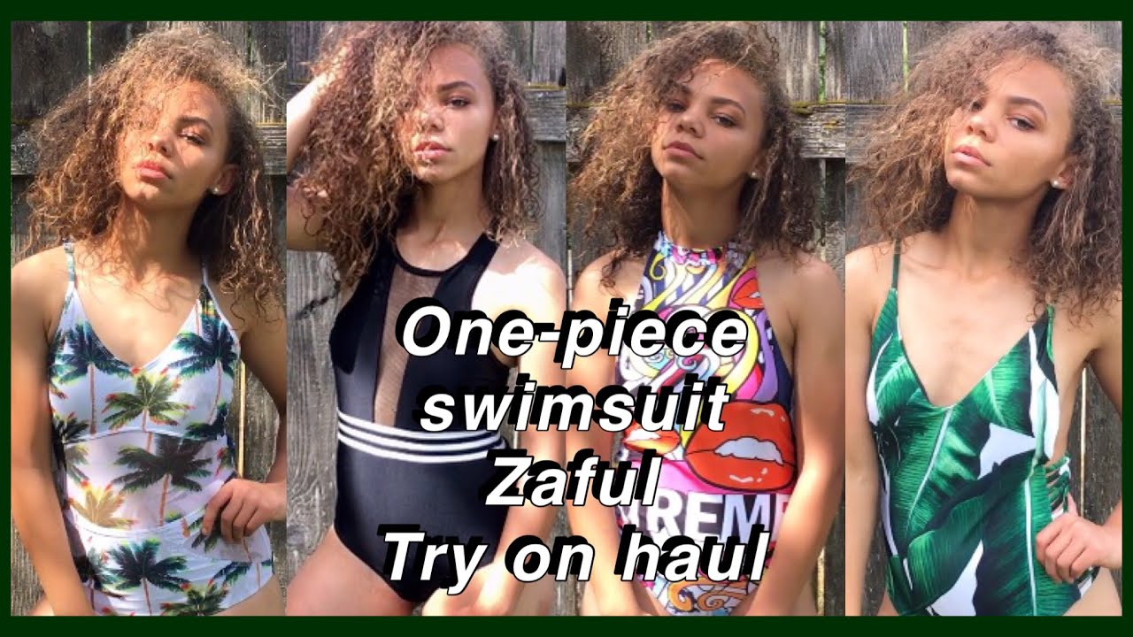7f33c5548c One-piece Try On Swimsuit Haul & Zaful Review | Viah Lee - YouTube