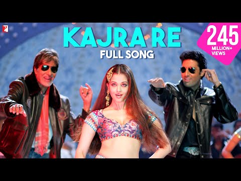 Kajra Re - Full Song | Bunty Aur Babli | Amitabh Bachchan |