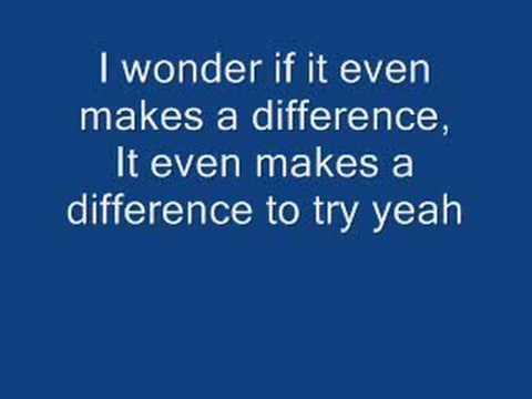 Maroon 5 - Makes me Wonder w/ lyrics