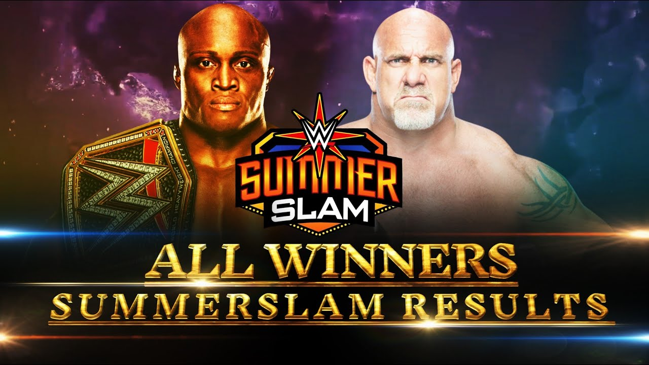 WWE Summerslam 2021 All Matches & Winners Results Predictions MatchCard 4 HD