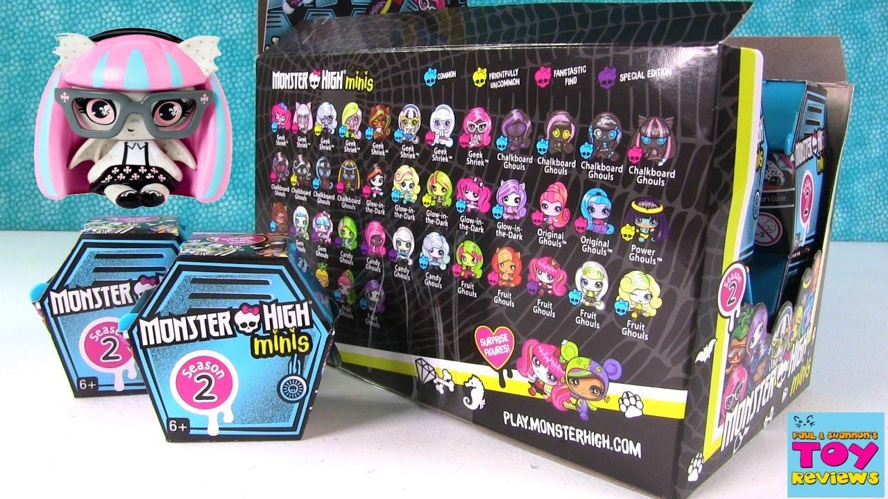 Monster High Minis Season 2 Blind Bag Opening Unboxing