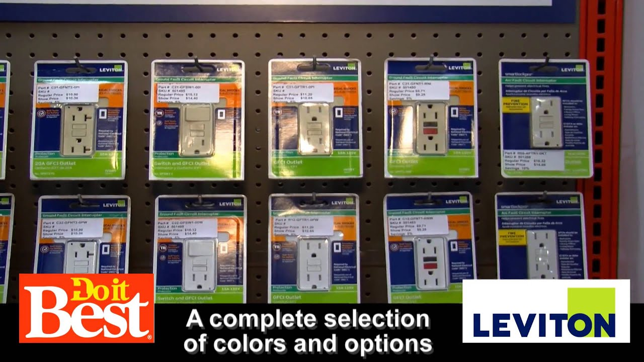 Levitons New Self Test Ground Fault Circuit Interrupters At Do It Interupter Best