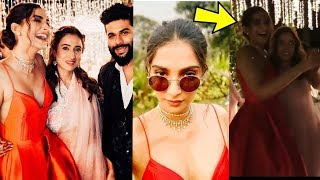 Pregnant Sonam Kapoor enjoying and dancing at a Marriage  Looks sweet