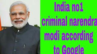 Indias no.1 criminal  apa shoch Nahi sakta usa insana Ka name aya ha