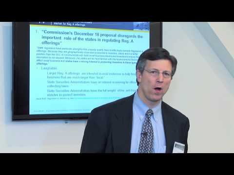David Weild Speaks on Wall St  10 21 14