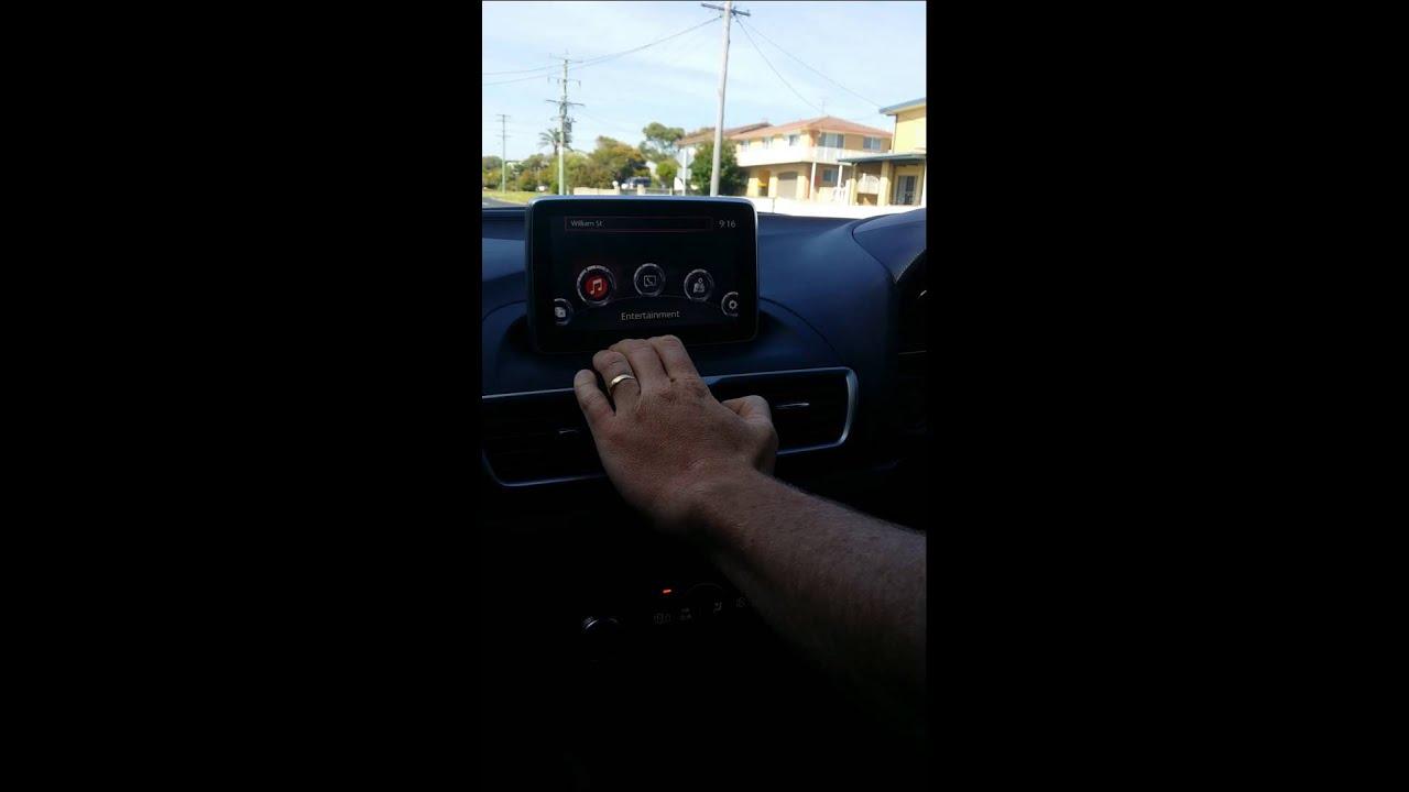 Mazda 3 MZD Navigation System Frozen Fail