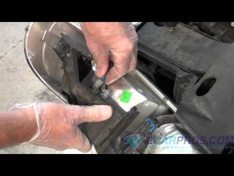 gmc acadia diy headlight bulb replacement. Black Bedroom Furniture Sets. Home Design Ideas