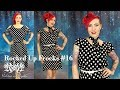 Thrifted Polka Dot Dress Transformation - Rocked Up Frocks #16 by Rockstars and Royalty