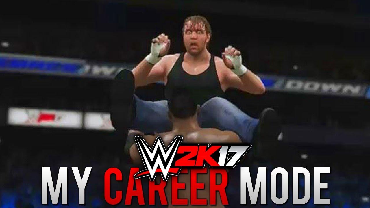 "Download WWE 2K17 My Career Mode - Ep. 33 - ""DEAN IS CRAZY!!"" [WWE 2K17 MyCareer Part 33]"