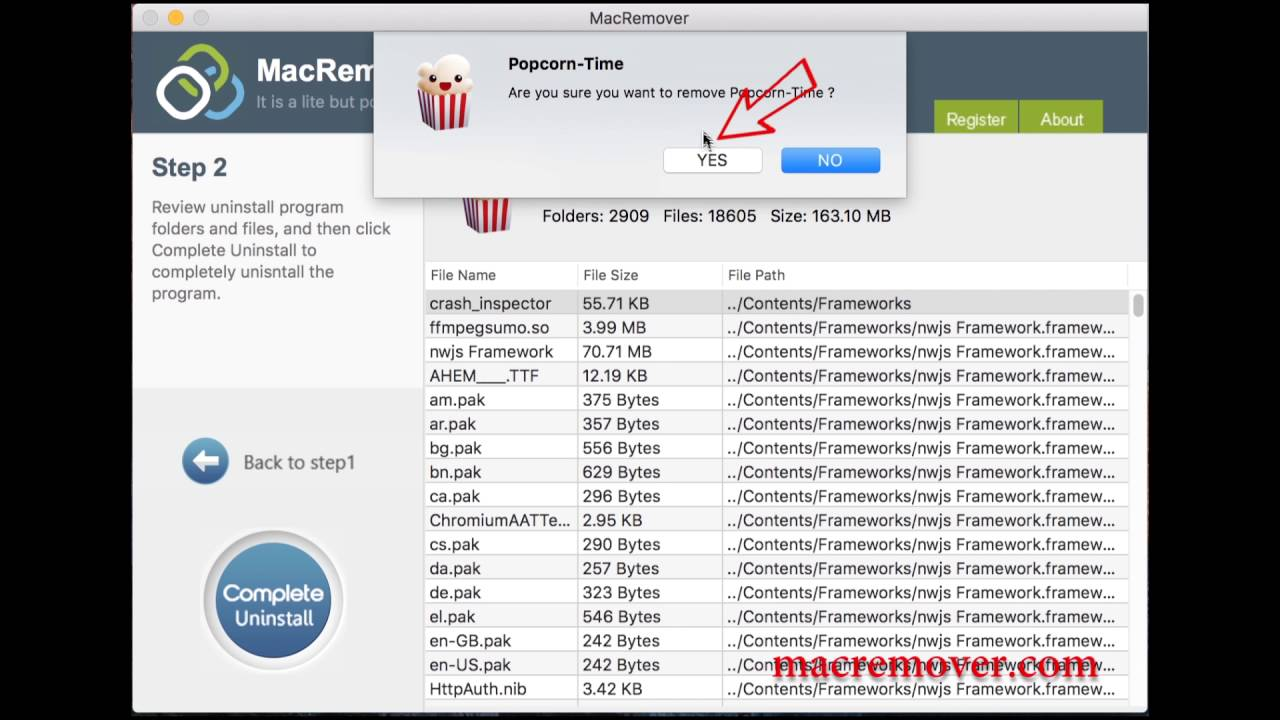 how to download from popcorn time mac