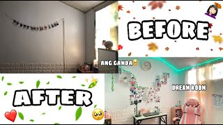 EXTREME ROOM MAKEOVER ✨❤️ (may gaming chair nako!!)
