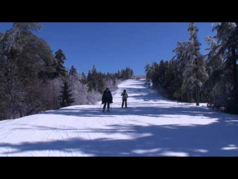 First Person - Skiing Down Attitash