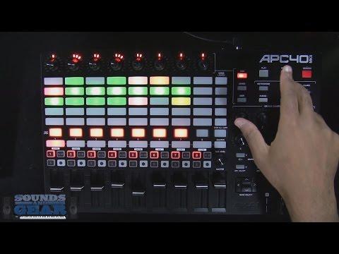 Akai APC40 MKII Ableton Live Controller Review - SoundsAndGear.com