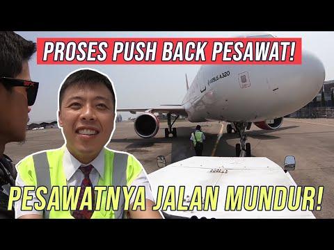 Dorong Mundur Pesawat - by Captain Vincent Raditya ( BATIK AIR PILOT ) - TANYA PILOT