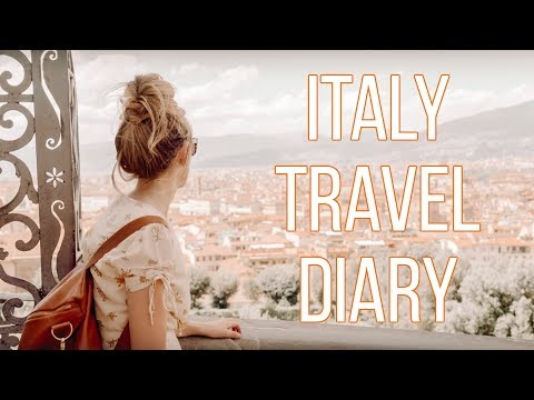 Tuscany, Florence And Camogli, Italy Video Diary
