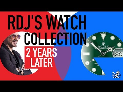 How Has Robert Downey Jr's Epic Watch Collection Changed Since His GQ Video? From Rolex & Beyond!