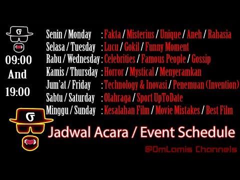 OmLamis Channels Trailer Update - Jadwal Acara